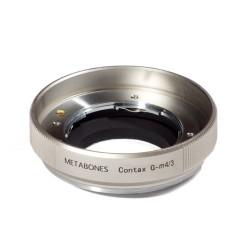 Adaptador Metabones de objetivos Contax-G para micro-4/3 (plata)