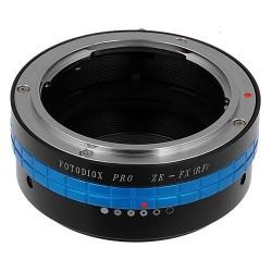 Adaptador Fotodiox de objetivos Mamiya-ZE para Fuji-X