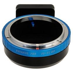 Adaptador Fotodiox de objetivos Canon-FD para Fuji X