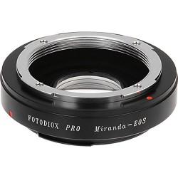 Adaptador Fotodiox Pro de objetivos Miranda para Canon EOS