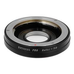 Adaptador Fotodiox de objetivos Rollei(35mm) para Nikon