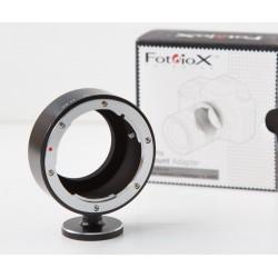 Adaptador Fotodiox Pro objetivos Olympus OM a Fuji-X