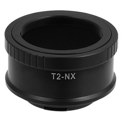 Adaptador Fotodiox Pro de Objetivos rosca T2 para Samsung NX