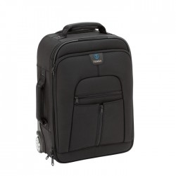 Tenba Roadie II Hybrid Roller/Backpack Case (Black)