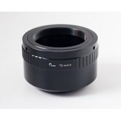 Adaptador objetivos rosca T/T2 para Olympus micro 4/3