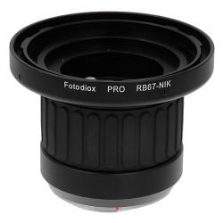 Fotodiox Pro Lens Mount Adapter for Mamiya RB67 lens to Nikon