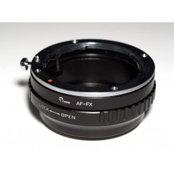 Adaptador objetivos Alpha/Minolta-AF para Fuji-X