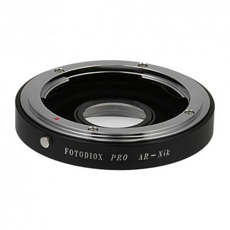 Adaptador Fotodiox Pro de objetivos Konica-AR para Nikon