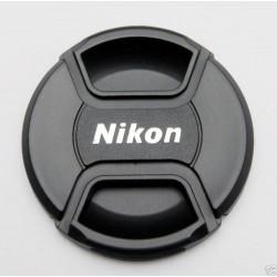 Tapa frontal Nikon para objetivos 62mm