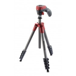 Tripode Manfrotto Compact Action - Rojo