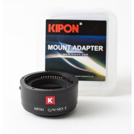 Adaptador inteligente Kipon de Contax-N para Sony montura-E