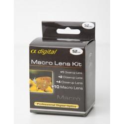 Macro Lens Kit 52mm (+1, +2, +4 and +10)