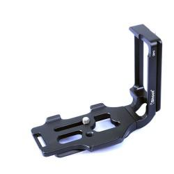 Soporte en L iShoot para disparo vertical para Nikon D8100 sin empuñadura