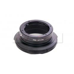 Adaptador objetivos montura Contax-Yashica para Sony FZ (F3,F5,F55) movie camera