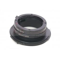 Adaptador objetivos montura Sony-A  para Sony FZ (F3, F5, F55) movie camera