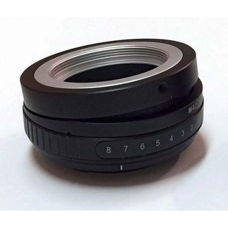 Tilt adapter for M42 lens to Sony-E mount