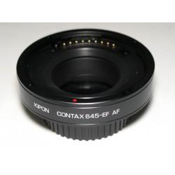 Adaptador Inteligente AF Kipon de objetivos Contax-645 para Canon EOS