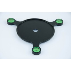 Fittest FTL-763 leveling plate with 3 spirit levels