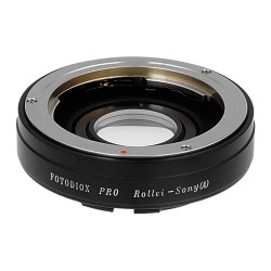 Fotodiox Pro Adapter for Rollei (35mm) lens to Sony A-mount
