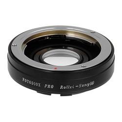 Adaptador Fotodiox Pro de objetivos Rollei (35mm) para Sony Alpha