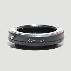 Adaptador Contax / Yashica  para Sony Alpha (montura-A)