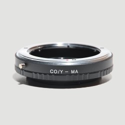 Adapter for Yashica/Contax lens to Sony Alpha (A-mount)