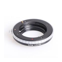 Kipon adapter for Contax-G lens to Fuji-X