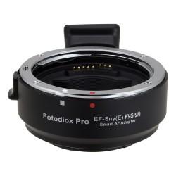 Adaptador Fotodiox Pro Auto de Canon EOS para Sony-E