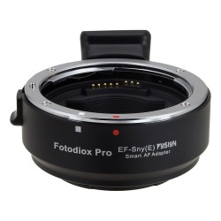 EF-Sny(E) Fusion - Smart AF Lens Mount Adapter for Canon EOS (EF / EF-s) Lens to Sony Alpha E-Mount