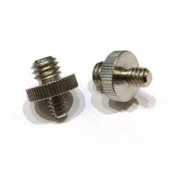 "Male to male 1/4-3/8"" Adapter Screw (2 pcs)"