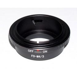 Adaptador Canon FD für Olympus Micro 4/3