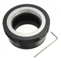 Adapter for M42 (flange) lens to Fuji-X