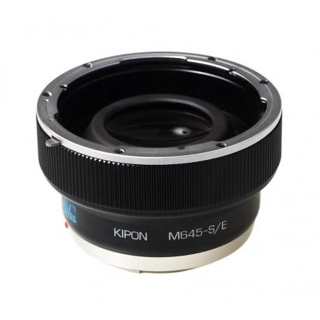 Baveyes 0.7x Focal Reducer for Mamiya-645 Lens to Sony-E