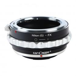 Adaptador K&F Concept de objetivos Nikon-G para Fuji X