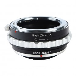 K&F Concept adapter for Nikon-G lens to Fuji X