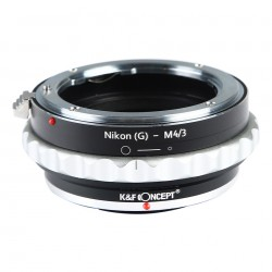 K&F Concept adapter for Nikon-G to micro-4/3