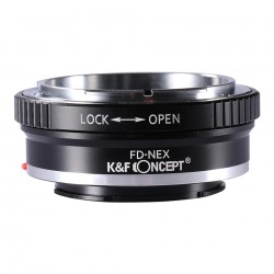 K&F Concept Adapter for Canon-FD lens to  Sony E-mount