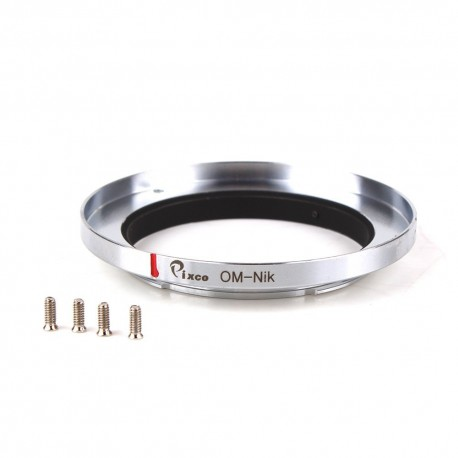 Montura de sustitución objetivos Olympus-OM a Nikon