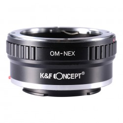 Adaptador K&F Concept  de objetivos Olympus OM para Sony montura-E