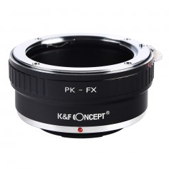 K&F Concept Adapter for Pentax-K lens to  Fuji-X
