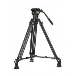 KIT Trípode Video Profesional Genesis Base CVT-20 + VF-7.5