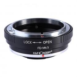K&F Concept Adaptador Canon FD für Olympus Micro 4/3