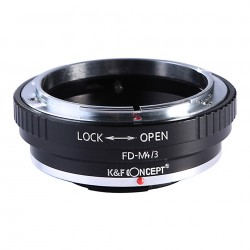 K&F Concept Adapter for Canon FD lens to Olympus micro 4/3