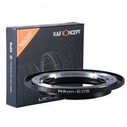 K&F Concept Adapter NIKON für Canon EOS (neu)