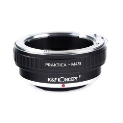 Adaptador K&F concept objetivos Praktica-B a micro-4/3