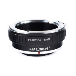 K&F concept Praktica-B lens to micro-4/3 camera mount adapter