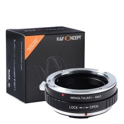 K&F Concept Adapter for Sony-Alpha (Minolta-AF) to  micro-4/3