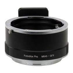 Adaptador objetivos Mamiya-645 para Fuji GFX50S