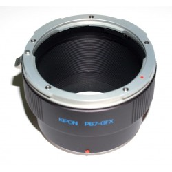Adaptador objetivos Pentax-67 para Fuji GFX50S