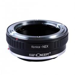 K&F Concept Adapterring Konica-AR für Sony-E Kamera